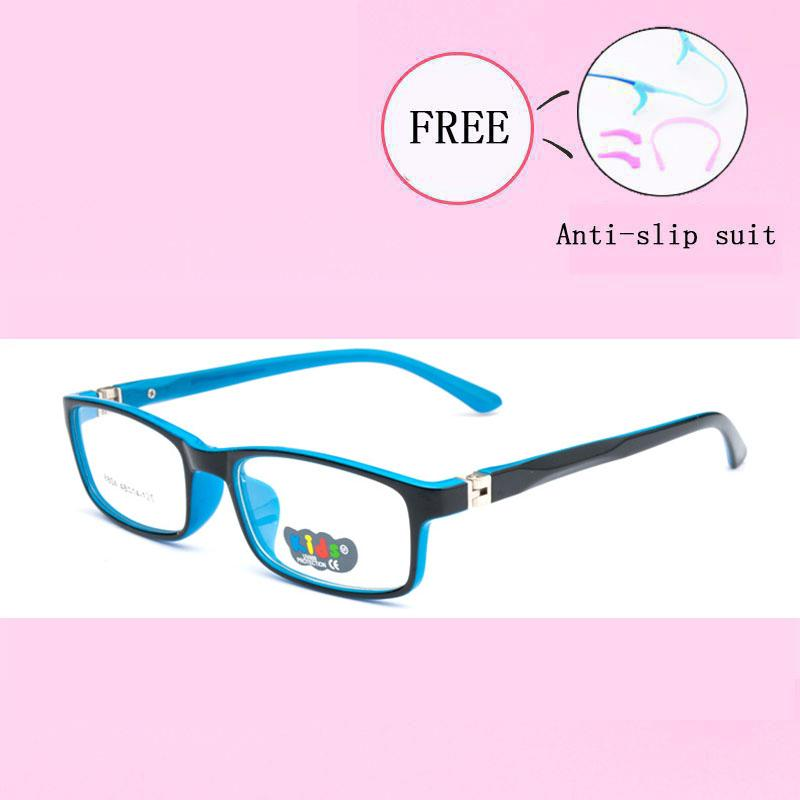 d5dc5fde3f Lovely Glasses Frame Children Girl Boy Elastic Glasses Leg Myopia ...
