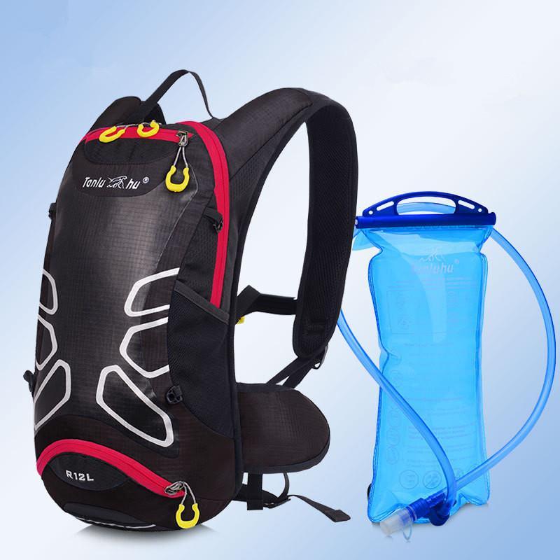 Radsport Fahrradtaschen Fahrrad Radfahren Rucksack Helm Halter Wasserdicht Taschen 18L Fahrradtaschen