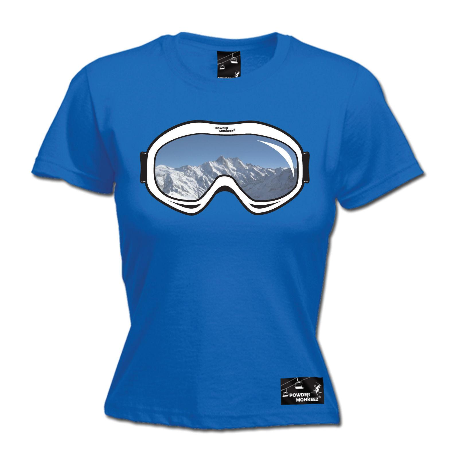 Women's Royal Large - Ski Goggles - Shirt Funny Gift