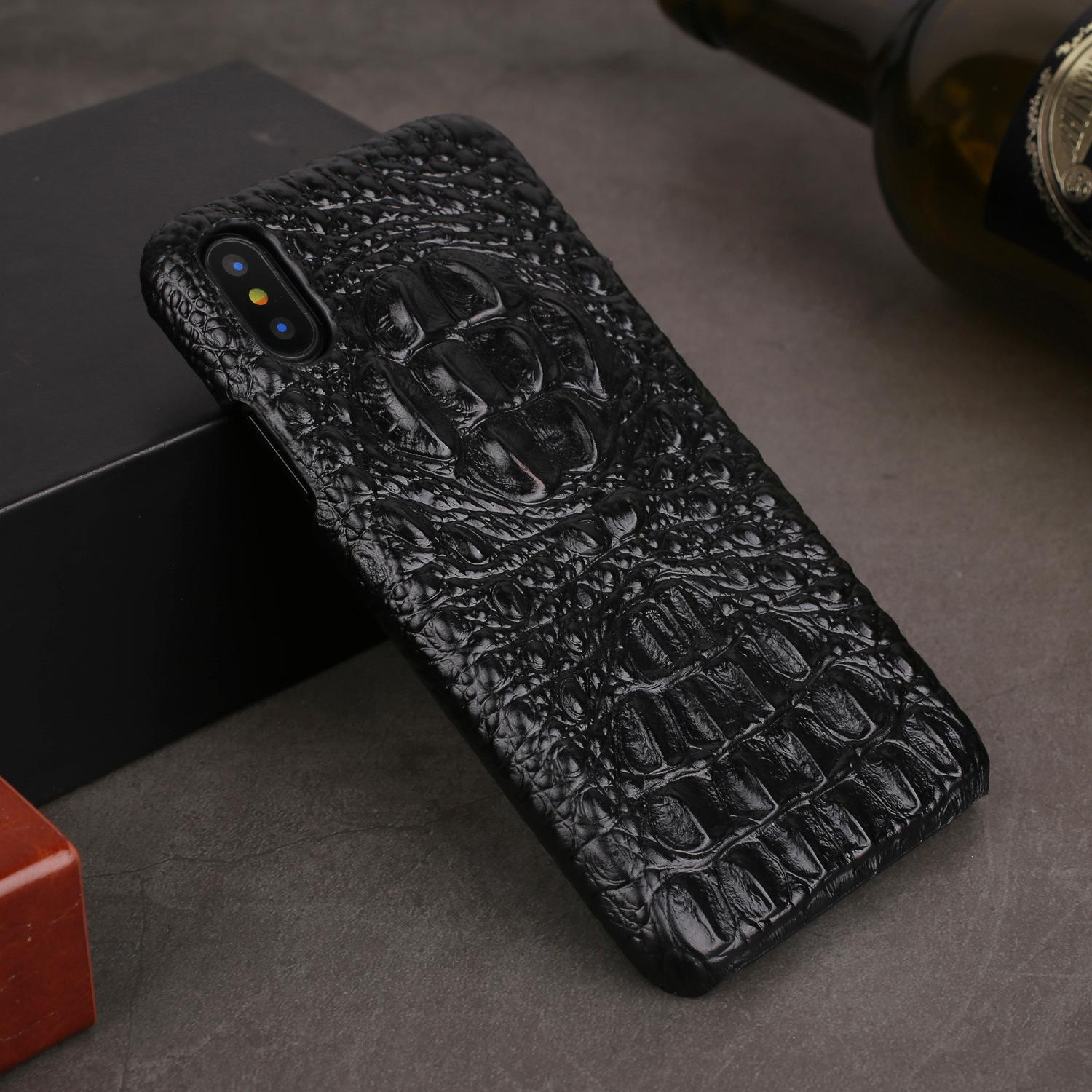 detailed look 9db8c 31fbe For Iphone Xs Max XR Case Genuine Leather Cases For IPhone X XS 6S 8 ...