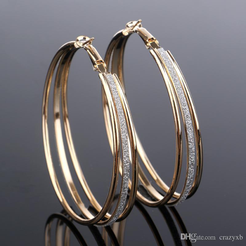 8e12effdf Fashion Jewelry New Design U Shape Small Circle Silver Earings ...