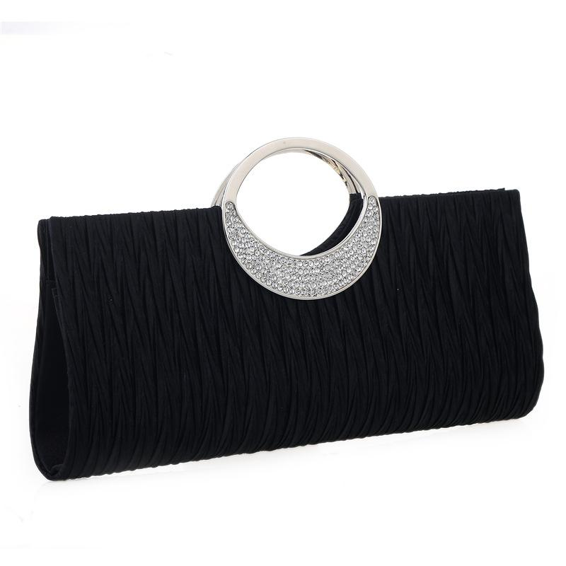 2018 Lady Diamond Evening Bag Women Party Banquet Glitter Bag ... f1a9a49112ed
