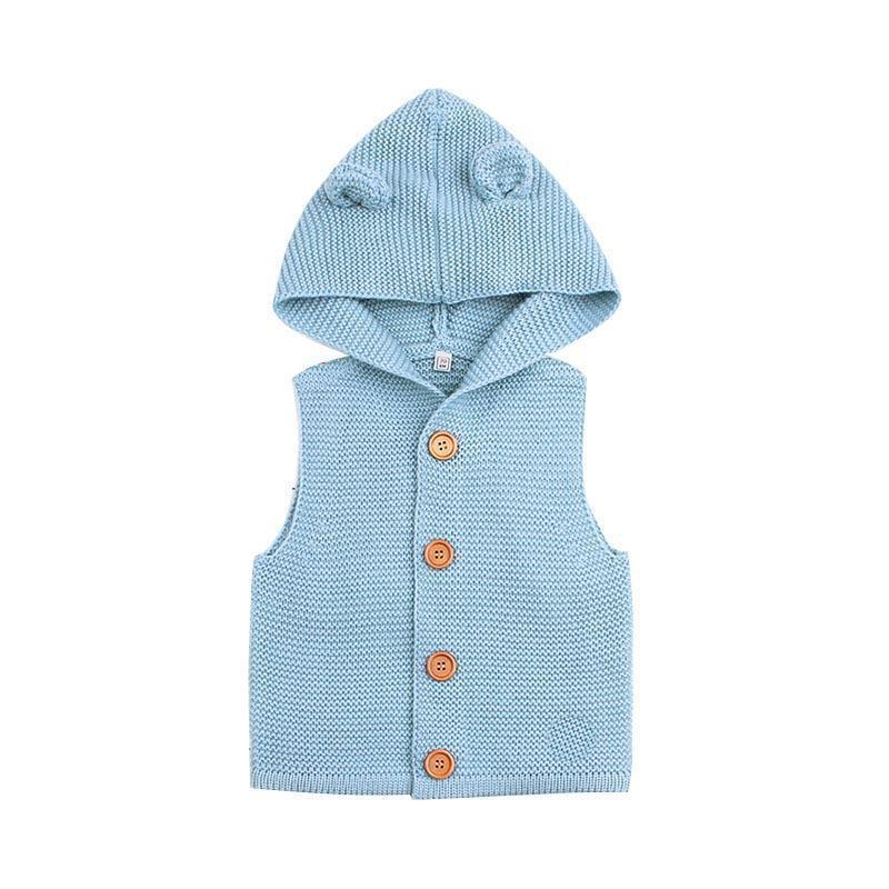 de78cadc1291 Baby Boys Clothes Girls Knitting Vest   Waistcoats Clothes Fashion ...