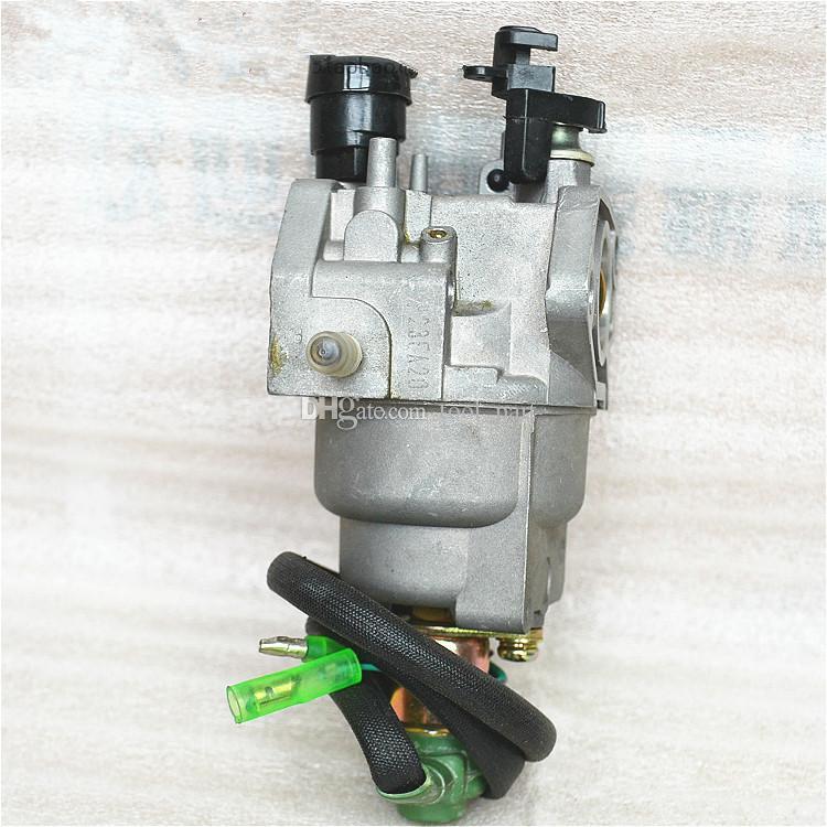 Carburador estilo A para Honda GX340 EC5500 5KW Motor con pieza de repuesto para válvula solenoide