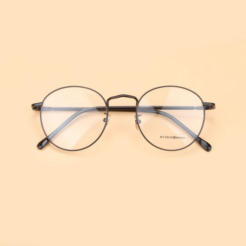 Retro Fashion Men And Women Glasses Frame Round Box Small Gift ... e1baae1744