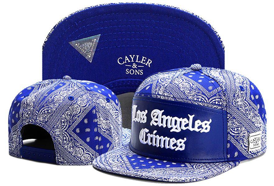 3a4425aaf5786 Compre Cayler Sons Los Angeles Crimes Cashew Flores Gorras De Béisbol  Snapback Sombreros Deportes Verano Gorras Casquette Hueso Hip Hop Para  Hombres Mujeres ...