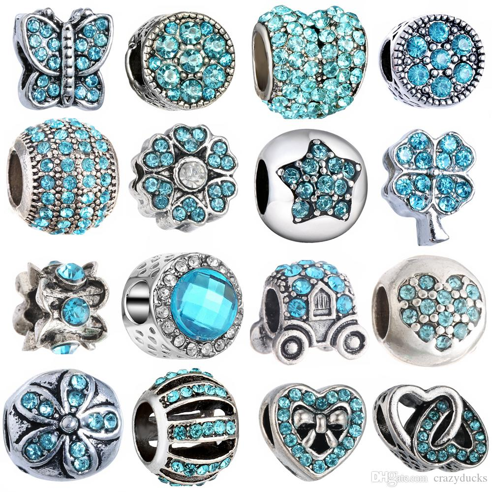 Jewelry & Accessories Beautiful Wholesale 5pcs European Charm Beads Tibetan Silver Plated Metal Enamel Flower Charms For Jewelry Making Bracelets Fast Shipping Beads & Jewelry Making