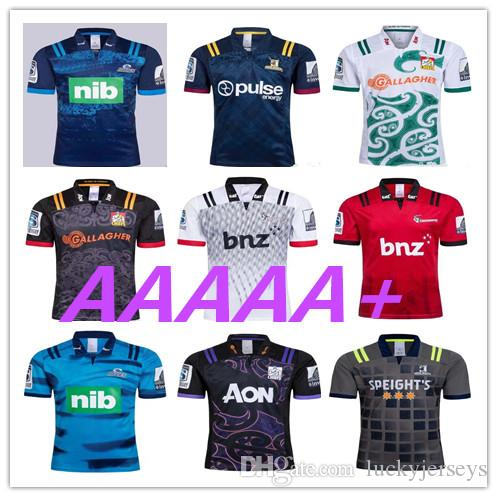 9f3e6bc5320 2019 2018 Chiefs Super Rugby Jersey New Zealand Super Chiefs Blues  Hurricanes Crusaders Highlanders Shirts SIZE: S 3XL From Luckyjerseys,  $19.29 | DHgate.