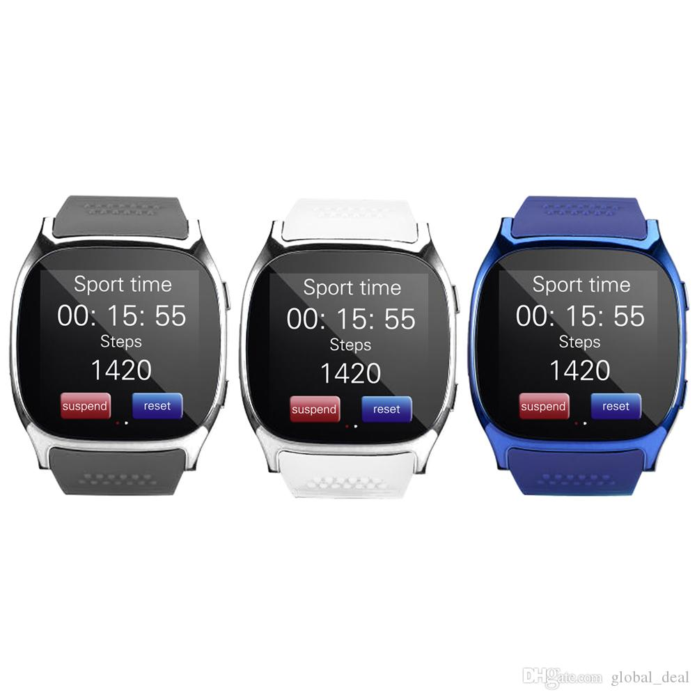 T8 SmartWatch Bluetooth Smart Watch Support Pedometer SIM TF Card With  Camera Sync Call Message Men Women SmartWatch For Android Samsung Online  Smart Watch ... d76879b4fc