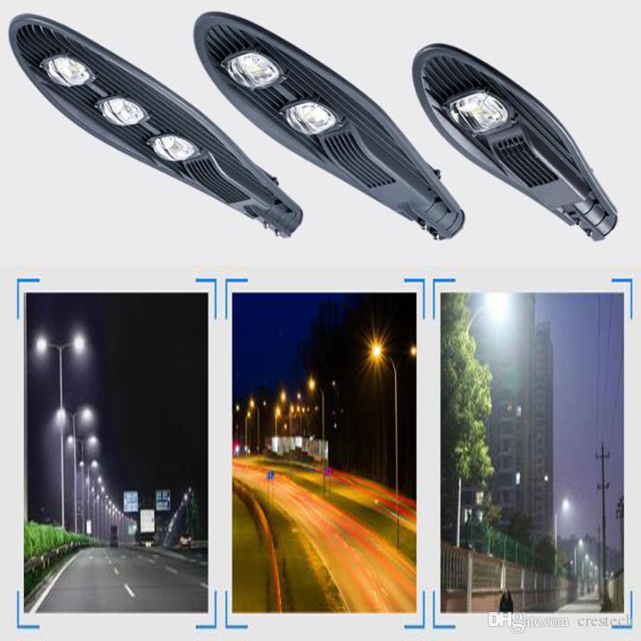 Éclairage industriel commercial de 100W 6000-6500k LED allumant des lampadaires de rue de route de lumière d'inondation de route