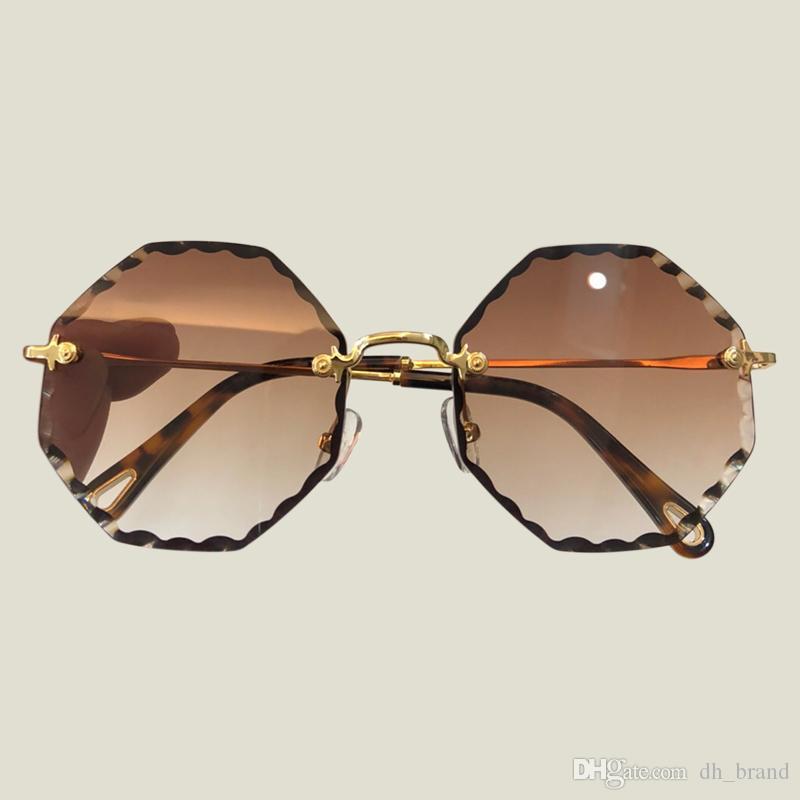 6a153e76a1 Compre Nuevas Gafas De Sol Calientes De La Venta De Las Mujeres Top Plano  Escudo De Gran Tamaño Shape Glasses Diseño De La Marca Vintage Gafas De Sol  UV400 ...