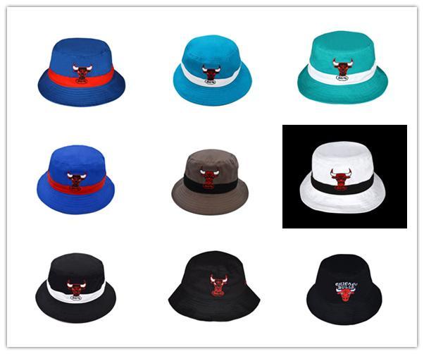 bc44df205b6 2018 Wholesale Summer Sun Bucket Hat Protection Fishing Brand Bob Boonie Bucket  Hats Summer Caps Bull Fisherman Hat Panama Hat Trilby From Hotcap3