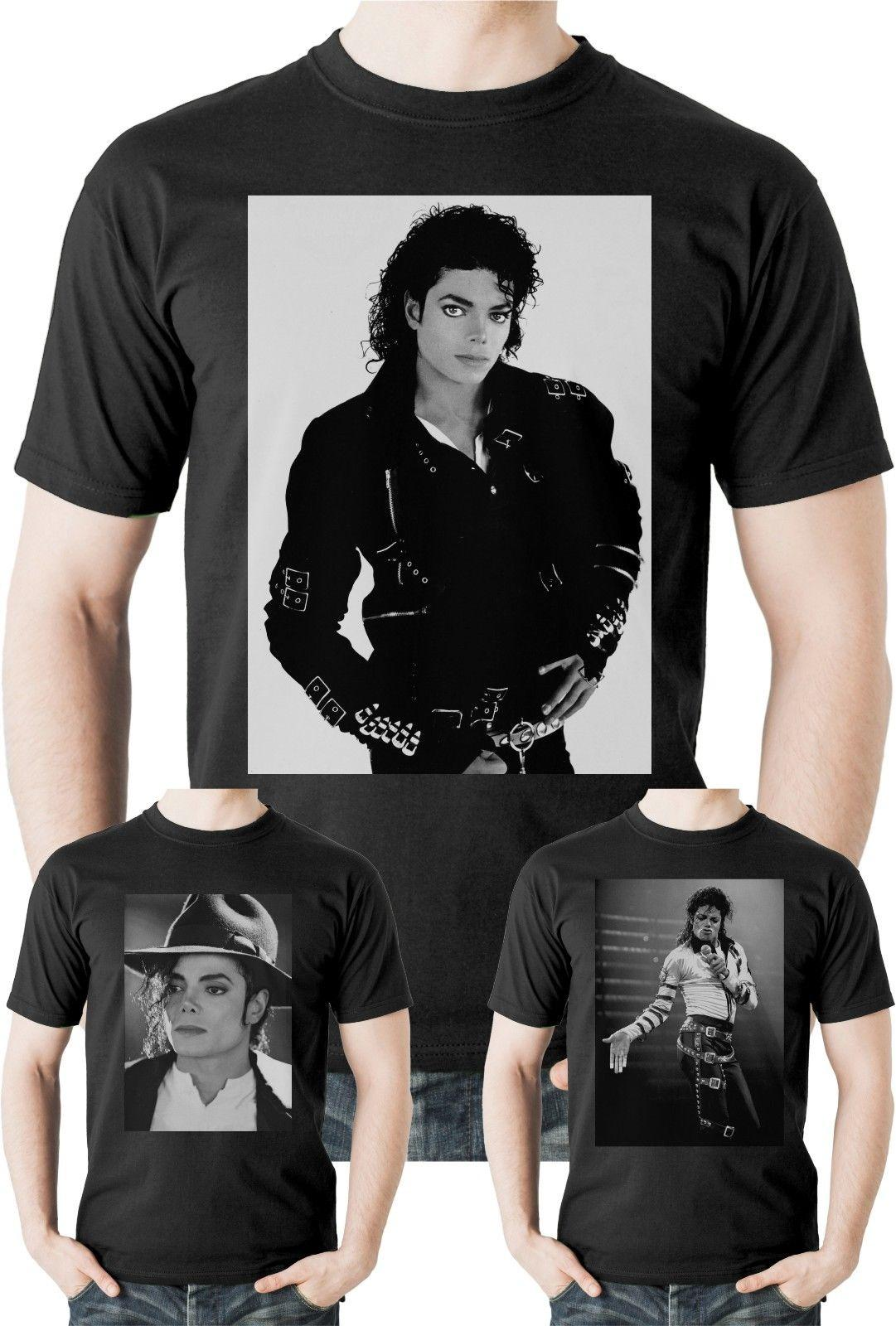 75a84bfe Michael Jackson T Shirt King Of Pop Thriller Bad Legend Top Tee Music MJ  UnisexFunny Unisex Tee Cool Tee Shirts Cool Tees From Topclassaa, $12.96|  DHgate.