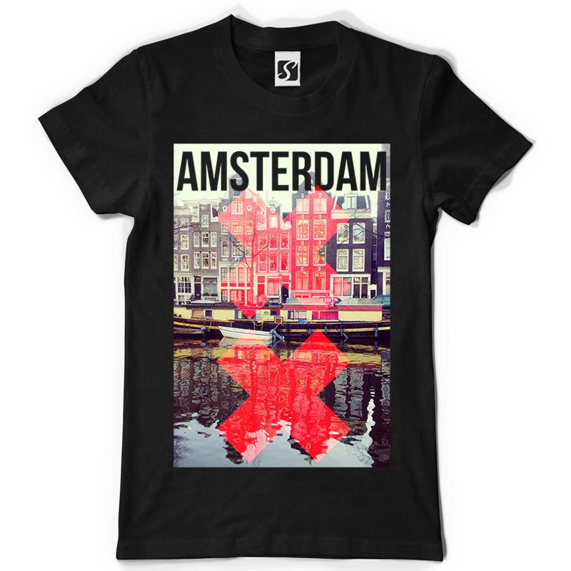 3d8e3546c4e98a Exclusive And Unique Men'S T Shirt Amsterdam Design SB193 Awesome Cheap T  Shirts Online Shopping For T Shirt From Tshirtemperor31, $11.63| DHgate.Com