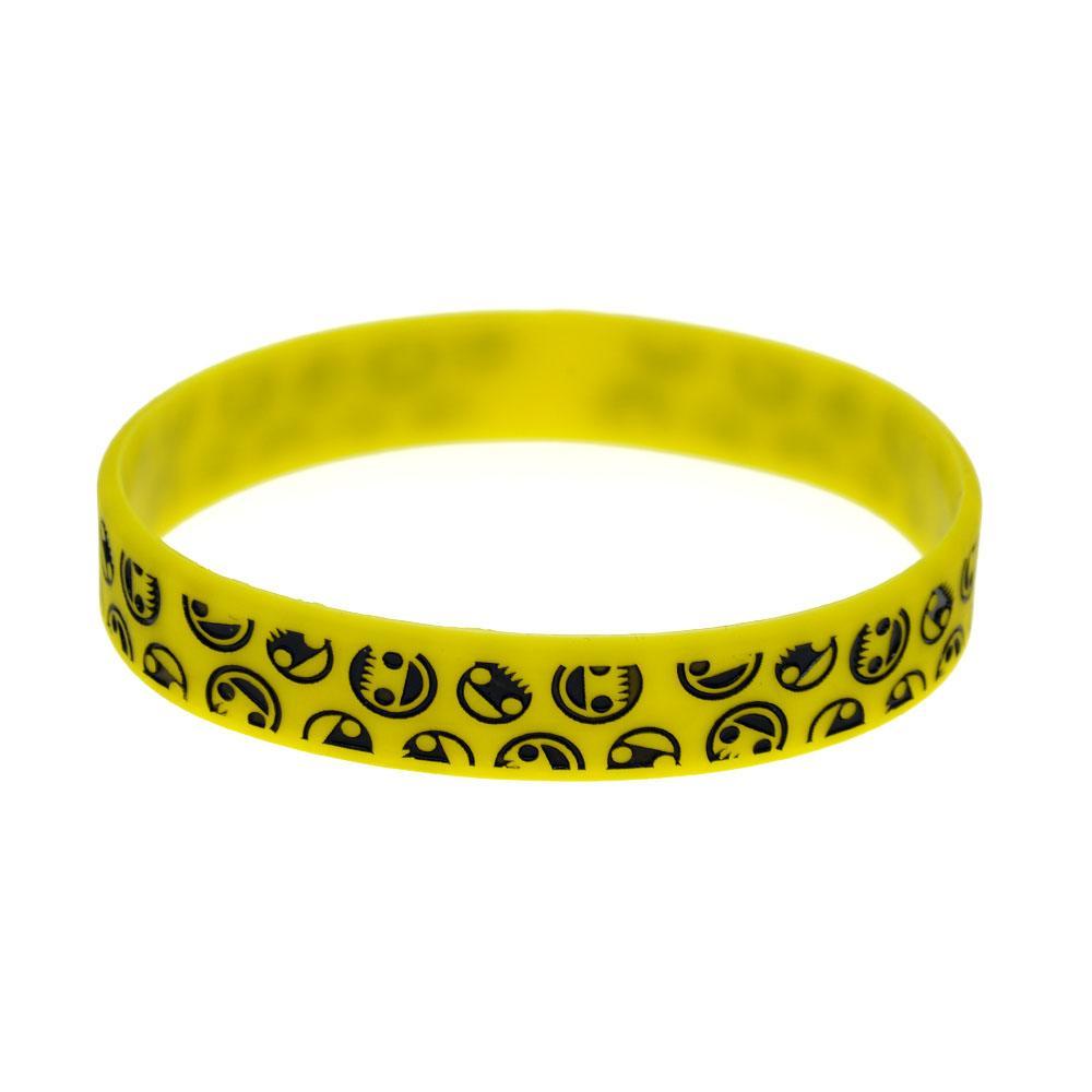 Fashion Decoration Logo Neff Silicone Rubber Bracelet Best Gift to Friend