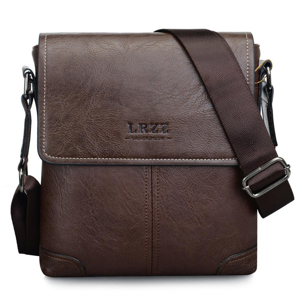 0cabe0dba12e 2018 Soft PU Leather Shoulder Crossbody Bag Minimalist Men Business Travel Messenger  Bag Waterproof Casual Pouch Designer Bags Wallets For Women From ...