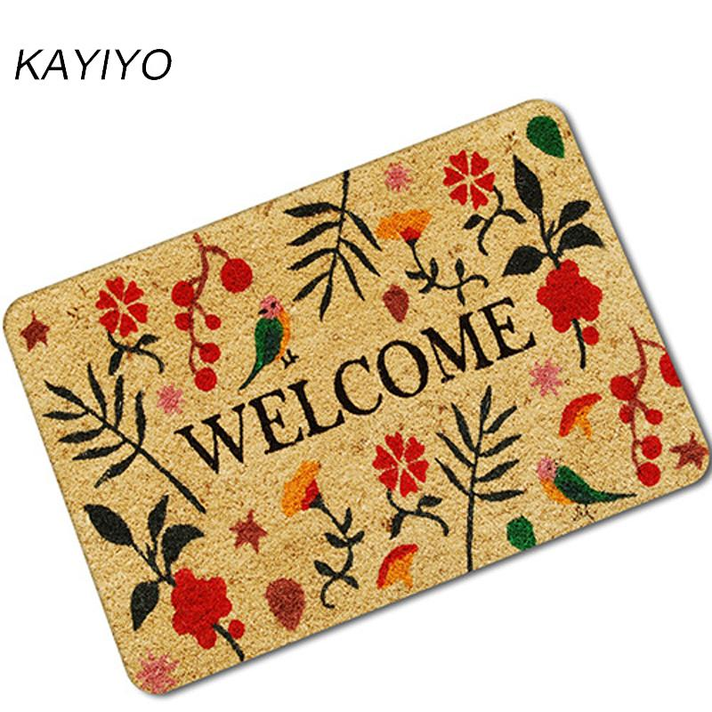 8c1bdce8422 ... Floor Mat Outdoor Rugs Welcome Front Door Home Entrance Door Mat Home  Deco Cushions For Lounge Chairs Outdoor High Back Chair Cushions Clearance  From ...