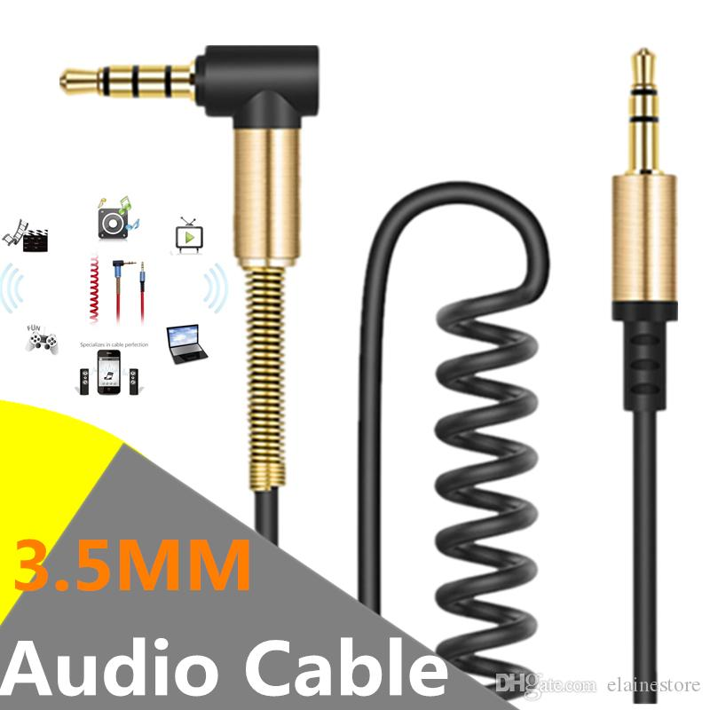 3 5mm male to male audio cable jack 3 5 aux cable for speaker headphone  iphone samsung car mp3 / 4 mobile phone aux cord wire cell phone charging  cables