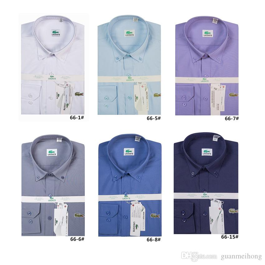d2e1a1cd91 Men Shirt Fashion Luxury Men Shirts Long Sleeve Mens Dress Shirts ...
