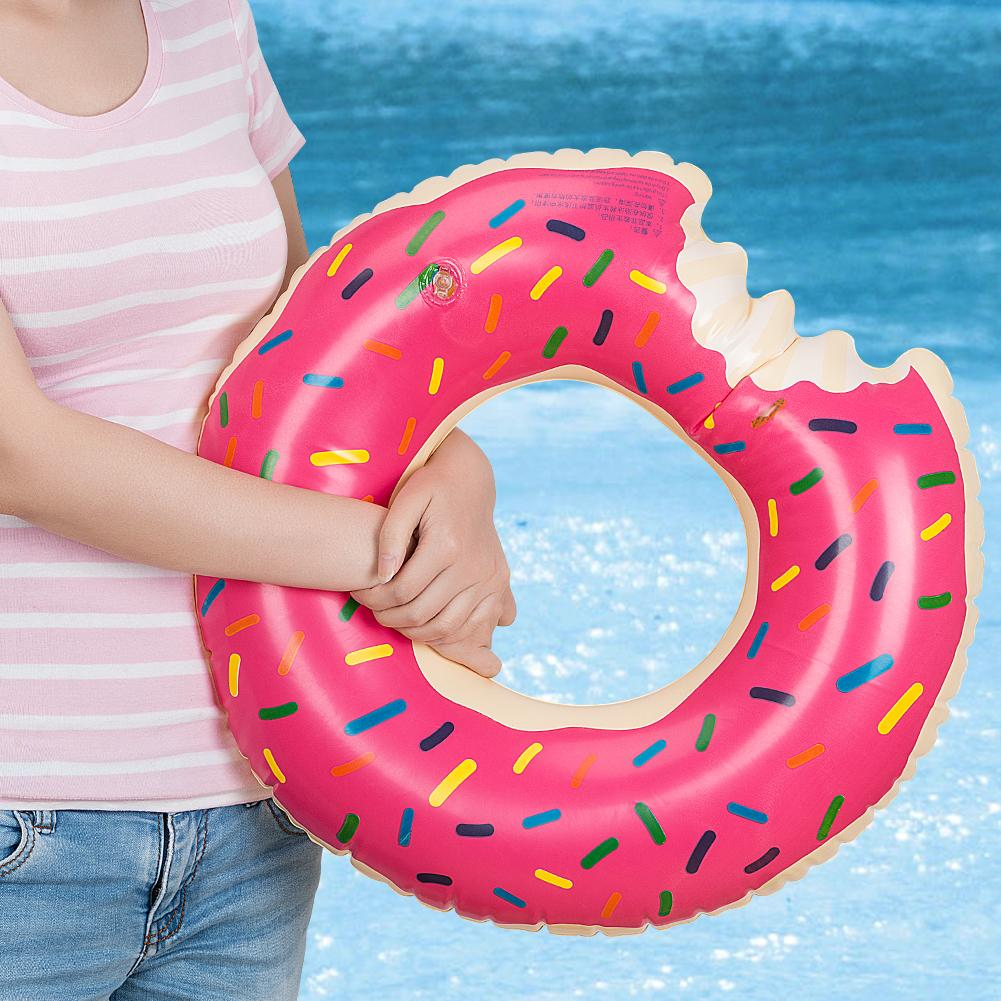 Inflatable Donut Swimming Ring Giant Pool Float Water Toys For Kids Children Beach Sea Birthday Wedding Party Favors: Wedding Ring Pool Toy At Reisefeber.org