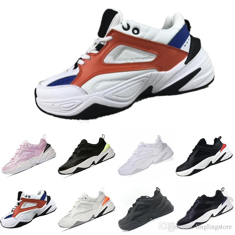 on sale f39d5 53433 Compre Nike Air Monarch M2K Tekno 2018 Caliente M2K Tekno Retro Papá  Zapatillas Deportivas Para Mujeres De Calidad Superior Para Hombre  Diseñador De Moda ...