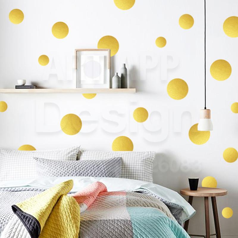 Art Design Home Decoration Cheap Vinyl Round Circle Wall Sticker ...