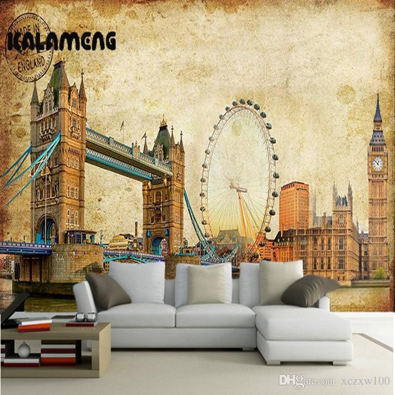 Kalameng custom 3d wallpaper design oil london photo kitchen bedroom living room wall murals papel de parede para quarto screensavers wallpaper screensavers