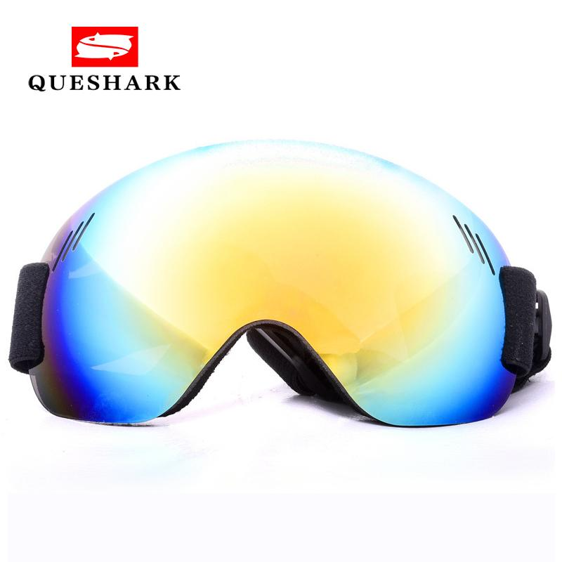 b53314cfb43 2019 Windproof Men Women Large Spherical Anti Fog Ski Goggles Snowboard Skiing  Glasses UV Protection Snow Climbing Glasses Ski Mask From Yangmeijune