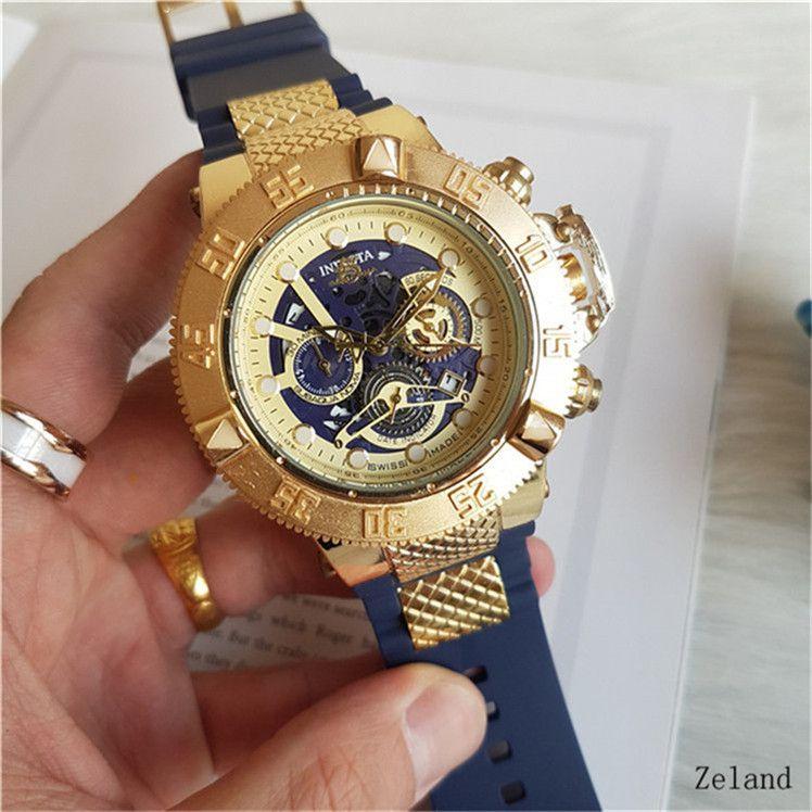 Compre Marca Invicta Relógios Das Mulheres Relógios Esportivos Ao Ar Livre Relógio  Relogio Masculino Relógio Militar Bom Presente Big Bang Relógios Dropship  ... c044d84067
