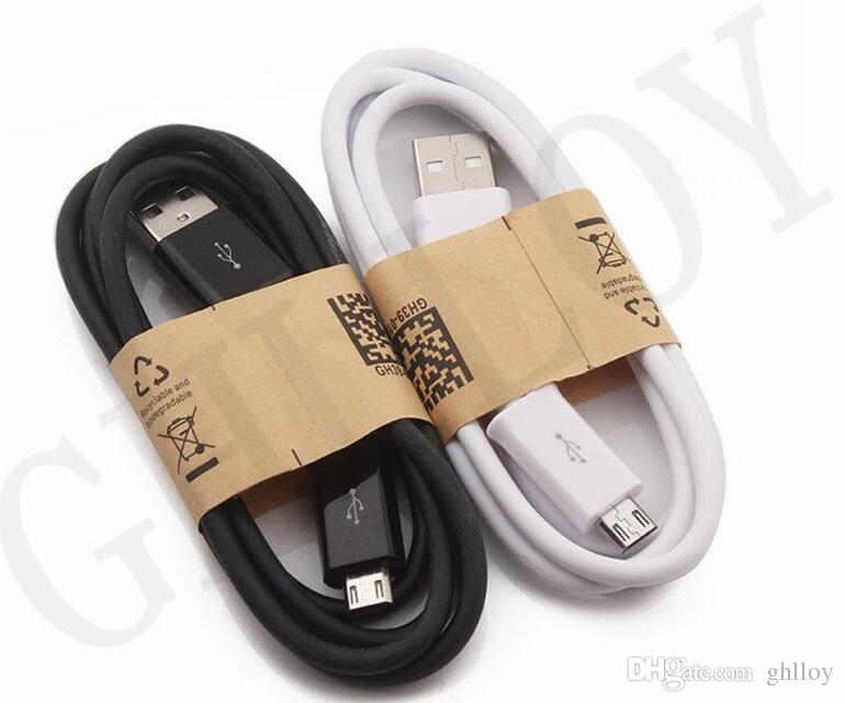 الدقيقة 5pin USB بيانات خط كابل ضوء حبال محول شاحن سلك 1M 3FT للحصول على الروبوت الهاتف سامسونج S6 ملاحظة 2 4 انخفاض سعر جيد التي جودة