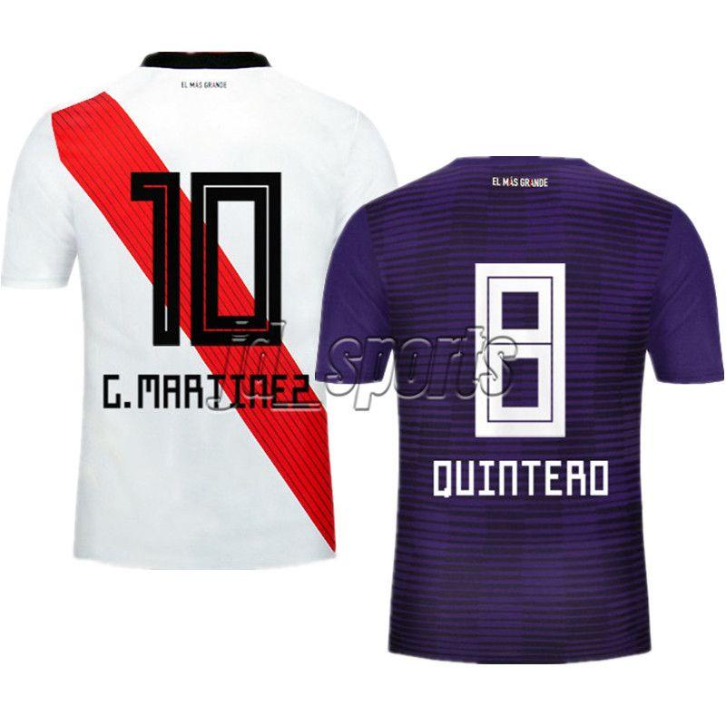 2018 19 River Plate Fútbol Camisa Martínez Scocco Camisetas De Fútbol  Camisetas De Fútbol Kit Maillot Por Jd sports 56ad8392b0bc5