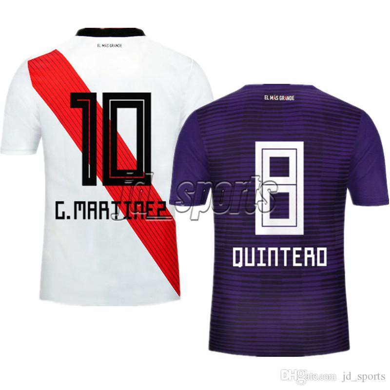 6e59a4f2cb4 2019 2018 19 River Plate Futbol Camisa Martinez Scocco Soccer Jerseys  Football Camisetas Shirt Kit Maillot From Jd sports