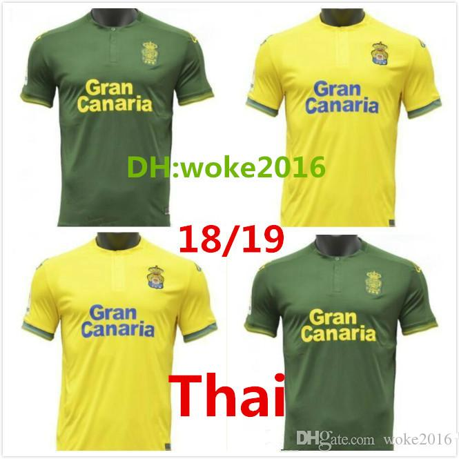 Best Quality 2018 Las Palmas Football Team Jersey 2018 2019 Home Las ... 63347d67e