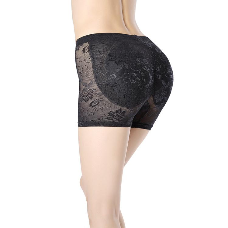 04969fdc691 2019 New Pattern Lace Ventilation Middle Waisted Firm Buttock Fake Buttocks  Bum Lift Knickers Buttocks Spanx From Ladylbdcloth