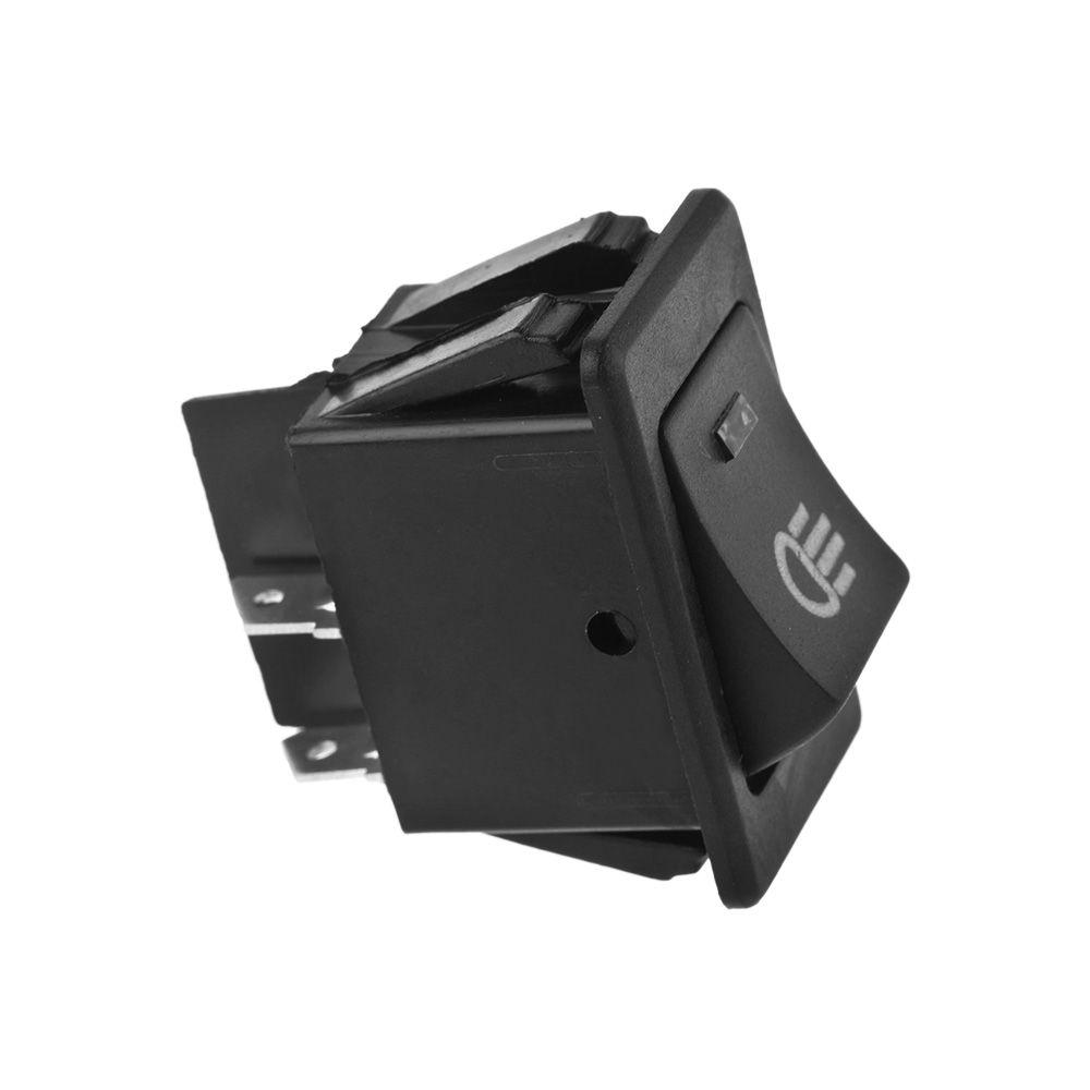 1 UNID Práctico 4-Pins LED Interruptor de Luz de Trabajo Indicador Interruptor de Palanca de Oscilación Conducción Lámpara de Niebla Accesorios Color Al Azar