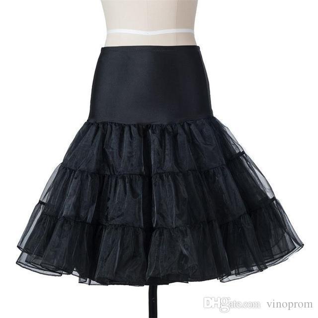 Abbastanza Tutù nero bianco rosso breve sottoveste abiti da cocktail sottogonna crinolina brevi abiti da ballo