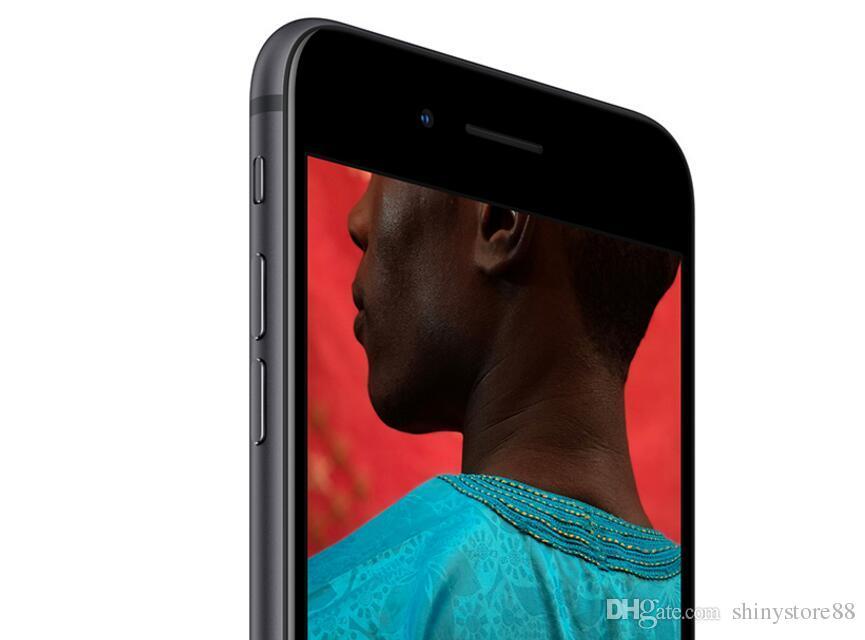 100% оригинал Apple Iphone 8 8 Plus без отпечатков пальцев 64GB / 256GB 12.0 MP iOS 12 восстановленный мобильный телефон