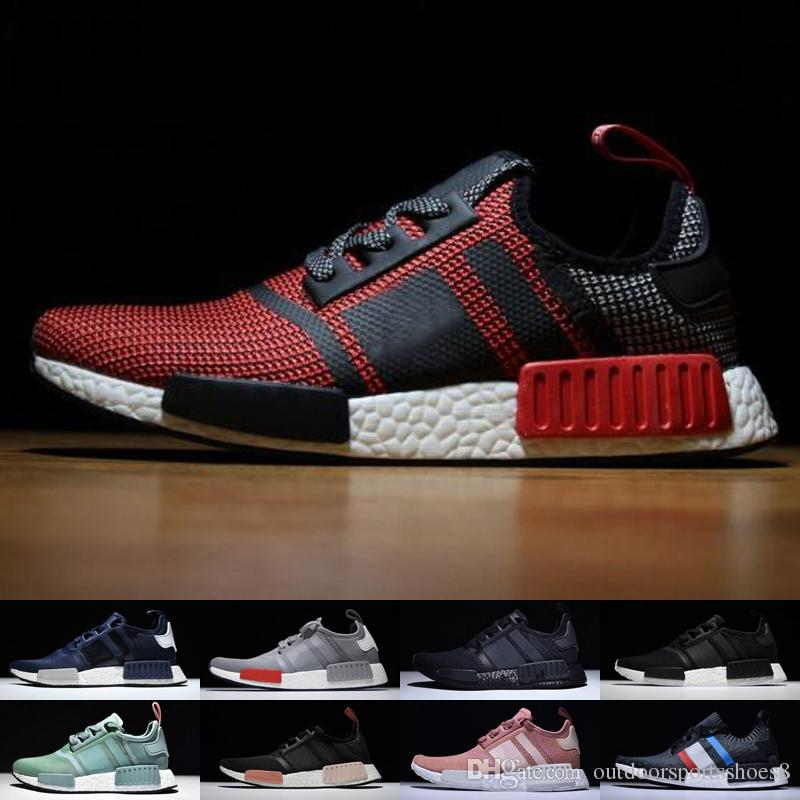 554c63a4ab2d3 2019 2018 New NMD R1 OREO Runner NBHD Primeknit OG Triple Black White Camo  Running Shoes For Men Women Beige Runner Sports Shoe Free Delivery From ...