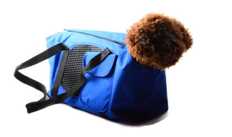 سخونة حقيبة الربيع الصيف تنفس دراجة ناقلات الحيوانات الكلاب الصغيرة حقيبة القط الكلب تحمل حقيبة محمولة في السرير حجم 38 * 20 * 28 سنتيمتر