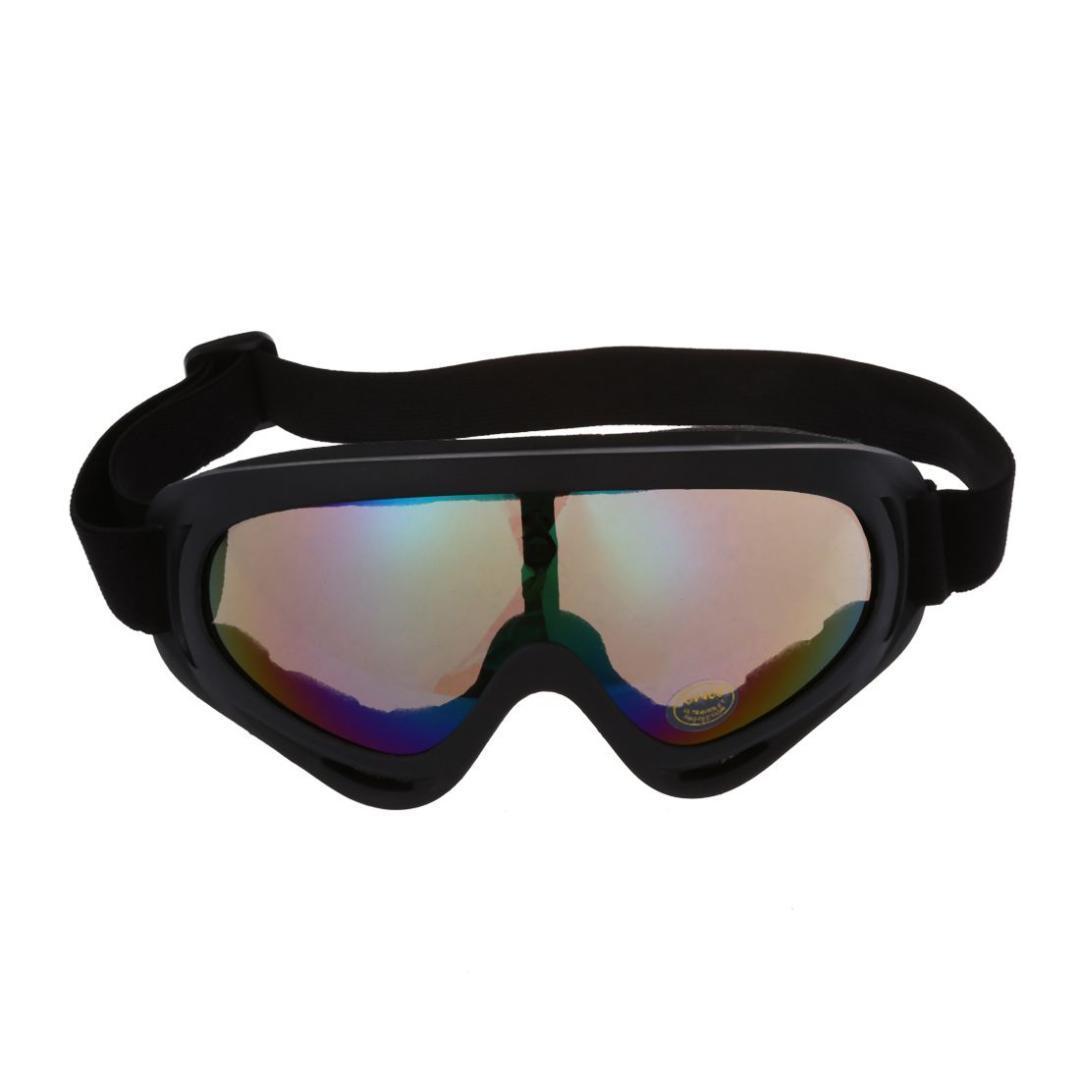 003badc2b4a09 Compre Lente Multicolour Dos Óculos De Proteção Fora De Estrada MX Do MX Da  Motocicleta Da Sujeira Da Motocicleta Do Motocross Com Quadro Preto De  Peachguo, ...