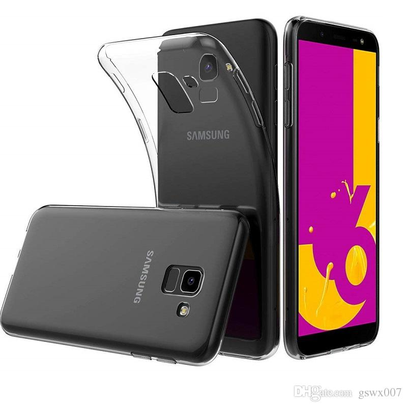 Carcasas Personalizadas Alta Brillante Caja Del Teléfono De TPU Para Samsung  Galaxy J2 J3 J4 J6 J6 J3 2017 J8 2018 2019 Ultra Delgada Transparente Suave  ... c0148e4e844