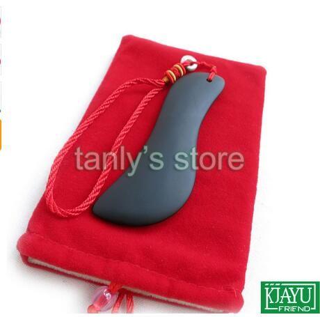 Оптовая торговля розничная традиционный акупунктурный массаж инструмент Бянь камень Гуаша красоты лицо доска S форма