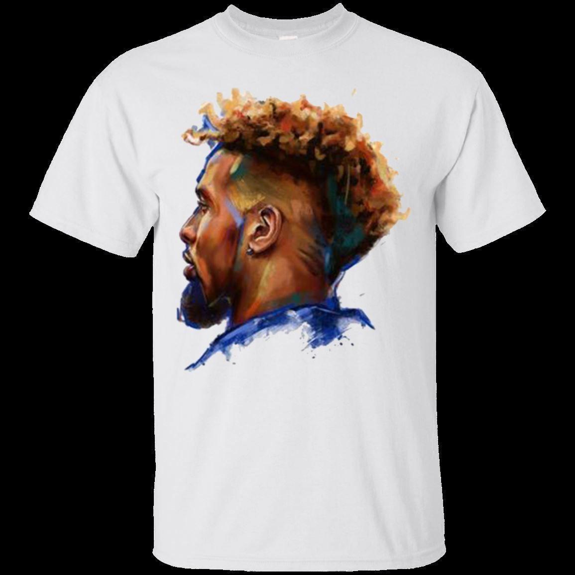 promo code 8fdaa c6597 Odell Beckham Jr. New York Giants T-shirt OBJ Face Men's Shirt Short Sleeve  Funny free shipping Unisex Casual tee gift top