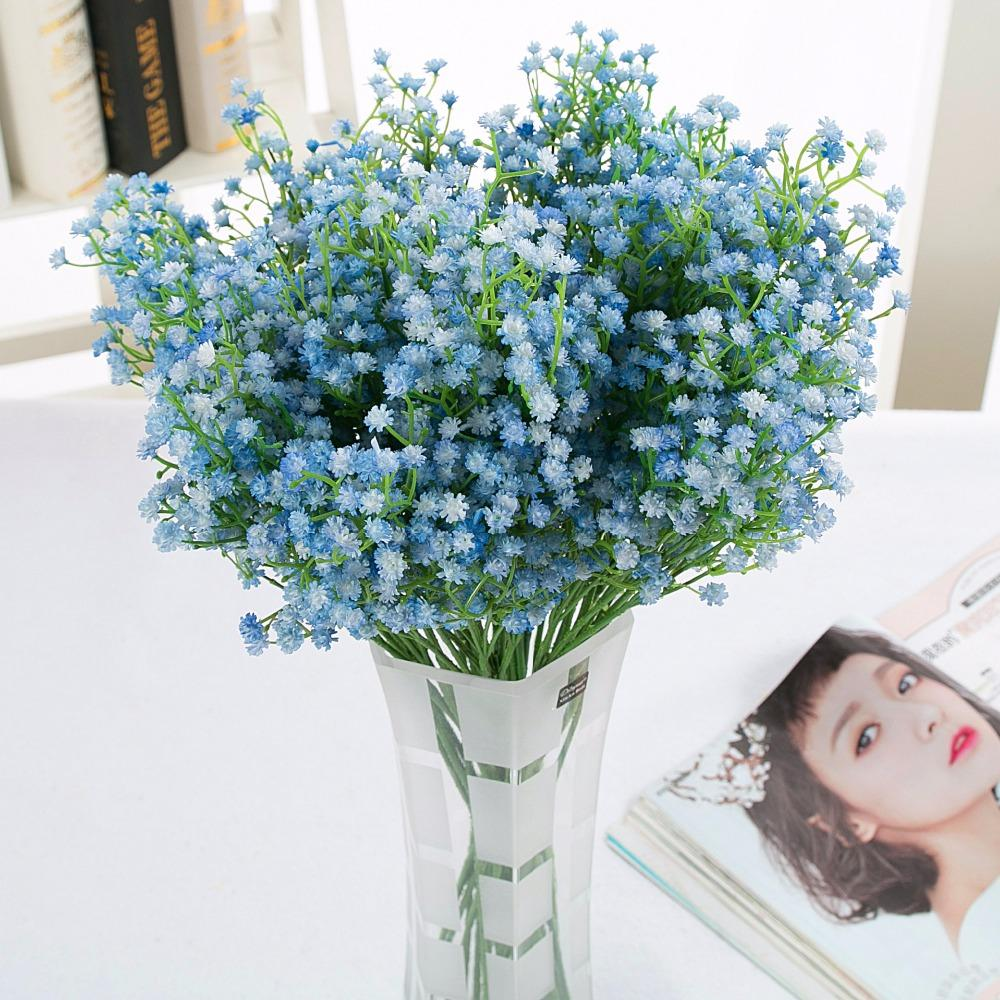 2018 Wholesale Baby Breath Artificial Flowers Plant Gypsophila Fake