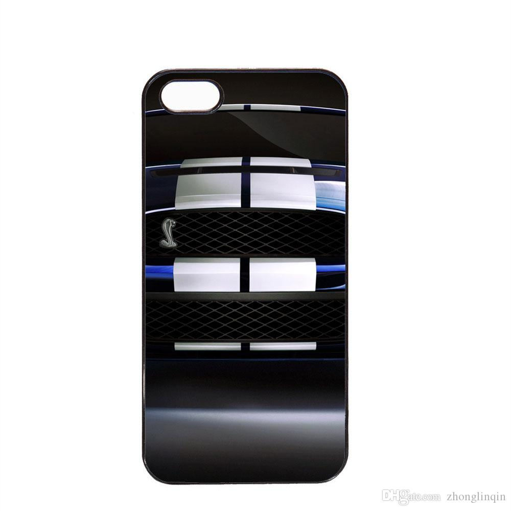 Classic ford mustang shelby gt500 phone case for iphone 5c 5s 6s 6plus 6splus 7 7plus samsung galaxy s6 s7e cell phone carrying case cell phone cases cheap