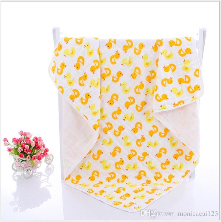 Baby Muslin Swaddles Organic Cotton Wraps Ins Blankets Soft Nursery Bedding Newborn Bath Towels Parisarc Robes Quilt Robes