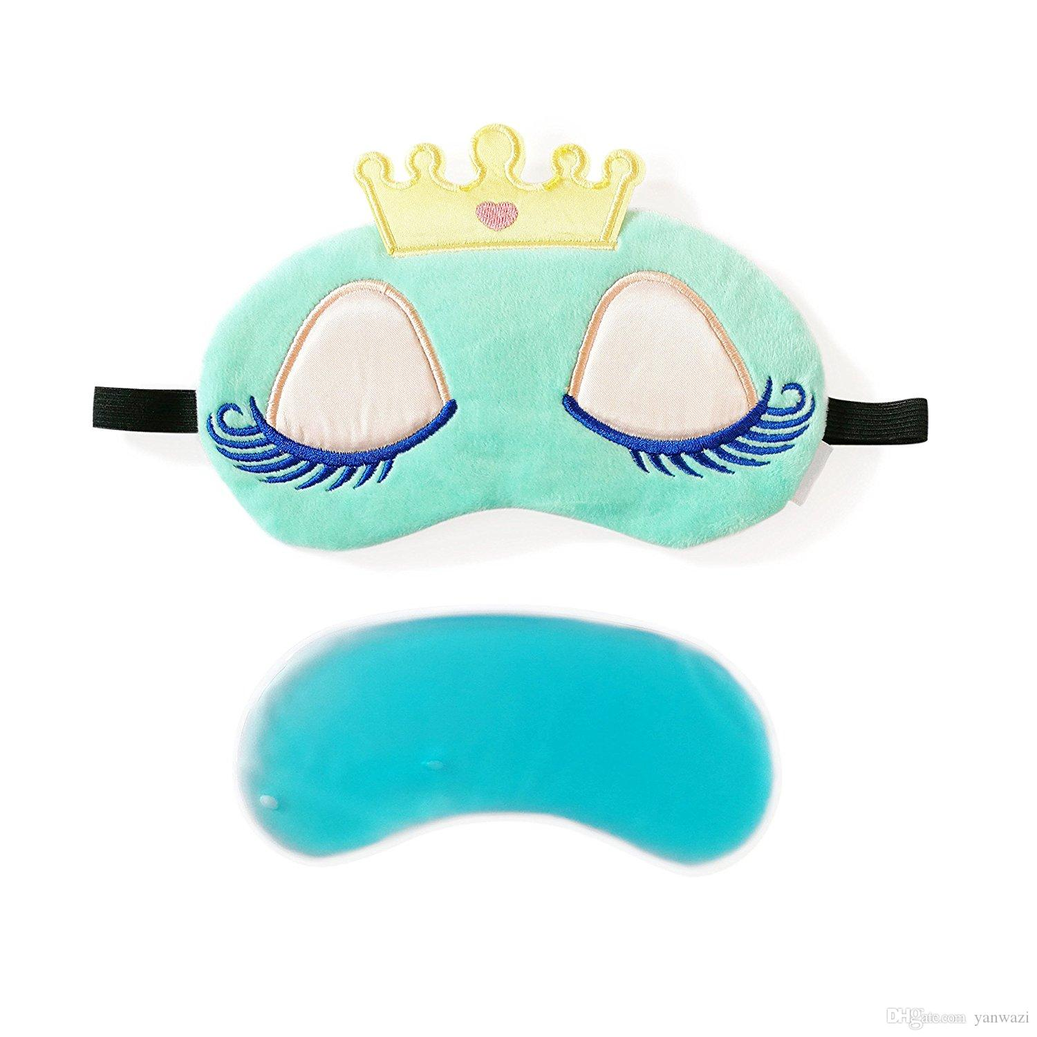 3D Sweet Sleep Princess Beauty Eye Mask with Reusable Gel Pad, Cold Hot SPA  Therapy for Dry Eyes and Puffy Eyes, Relaxes Your Eye