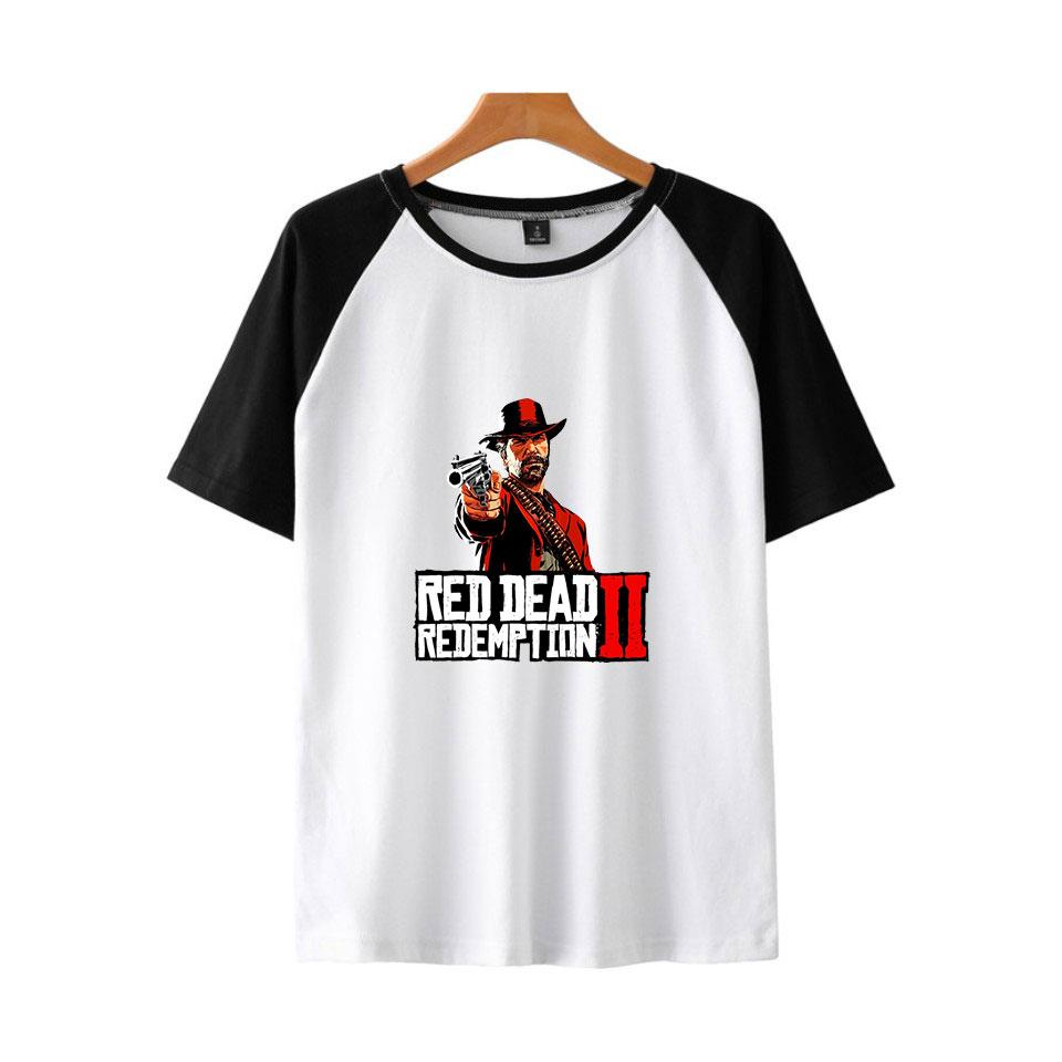 a32e5621f215 Frdun 2018 Red Dead Redemption 2 T Shirt Fashion Young New Raglan Short  Sleeve T Shirt Short Sleeve Men Women Tshirt Cheap T Shirts Long Sleeve T  Shirts ...