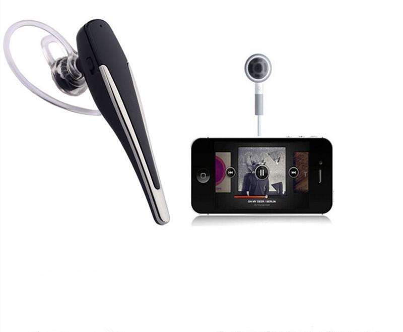 HM1100 Auriculares inalámbricos Bluetooth Auriculares Auriculares Bluetooth Deportes Negocio Gancho auricular con Micrófono para el Iphone 8 samsung huawei