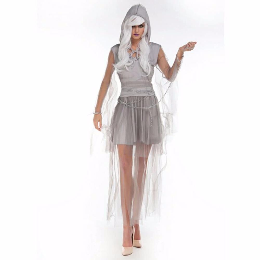 2018Sexy Black Goat Bride Halloween Scary Costumes For Women Ladies  ZombieCorpse Cosplay Adult Fancy Dress Club PartyCostume Team Costumes For  Halloween W ... ada2441b7